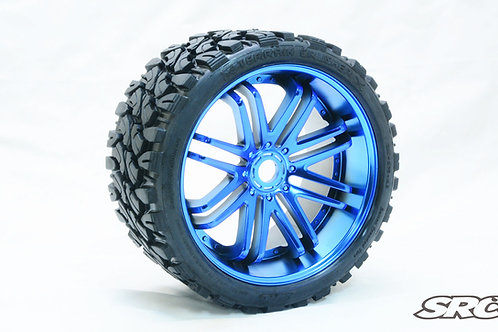 Terrain Crusher Blue wheels pair