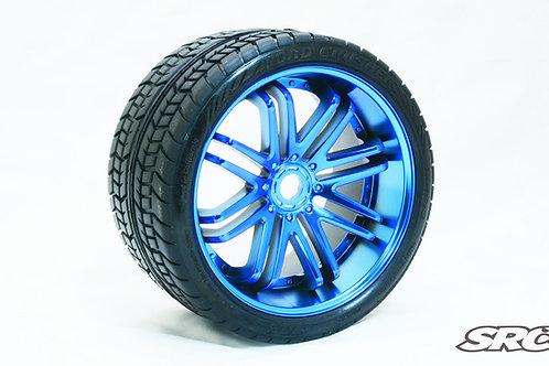 Road Crusher Blue wheels pair