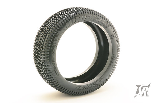 8th Buggy Whips Pre-glued set tires 4pcs