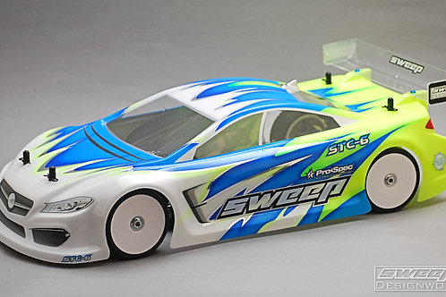 STC-6 190mm TC body shell 0.65mm light weight