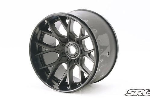 WHD 1/2 offset Black wheels 2pcs