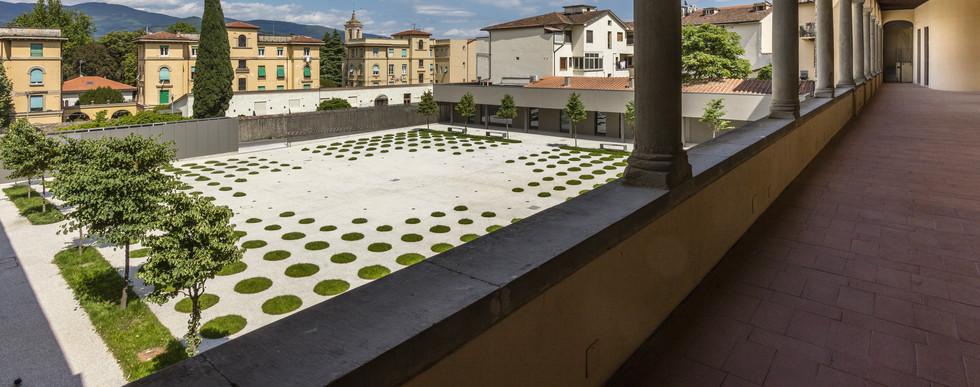 Il nuovo giardino di Palazzo Fabroni