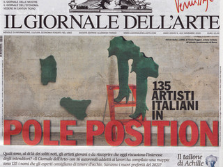 IL GIORNALE DELL'ARTE - CONTINENTE ITALIA