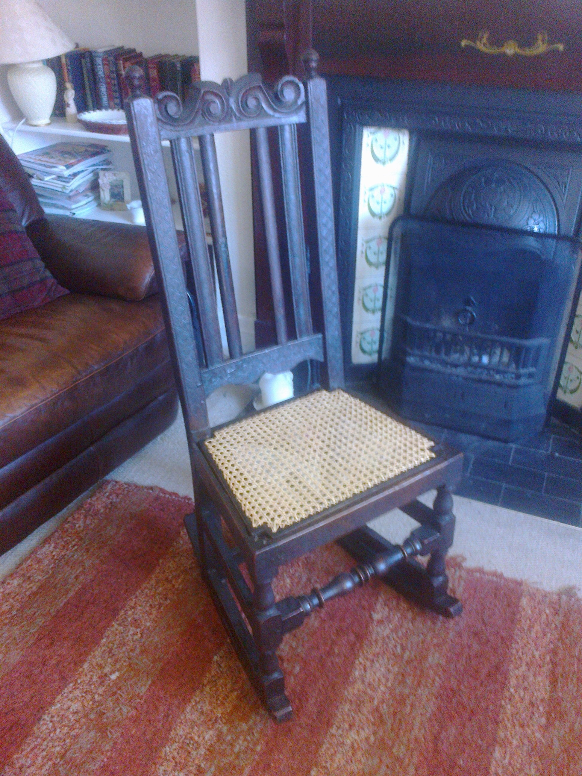 G. Stephenson's chair -4