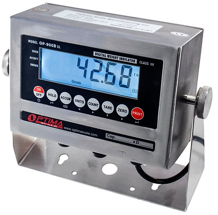 OP-900-SL Stainless Steel Washdown Indicator