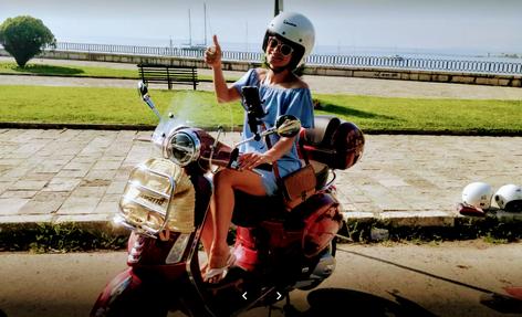 Corfu scooter rental