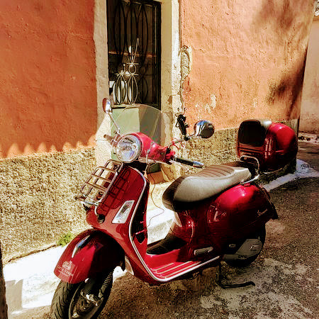 Scooter rental corfu