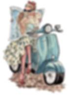 Vespa scooter rental corfu