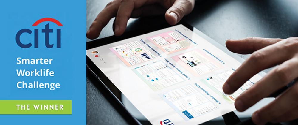 Infolio is Citi's Smarter Worklife Challenge Winner