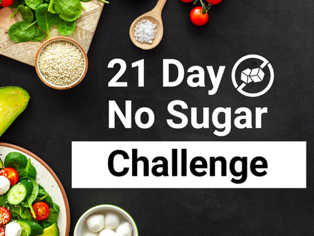 21-Day No Sugar Challenge: No Added Sugar Recipes in Your Task Management Tool