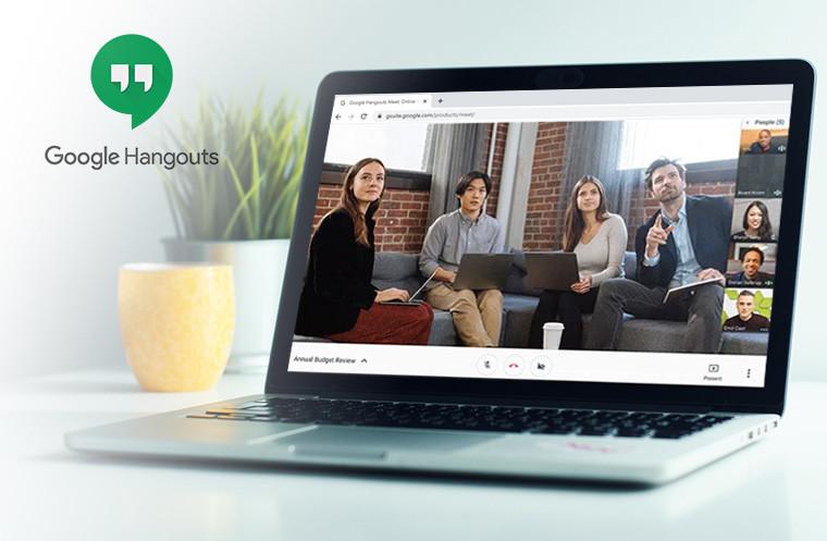 Google Hangouts Meet Video Conferencing
