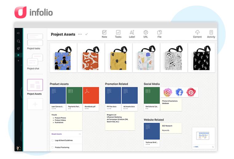 Infolio Content Collaboration