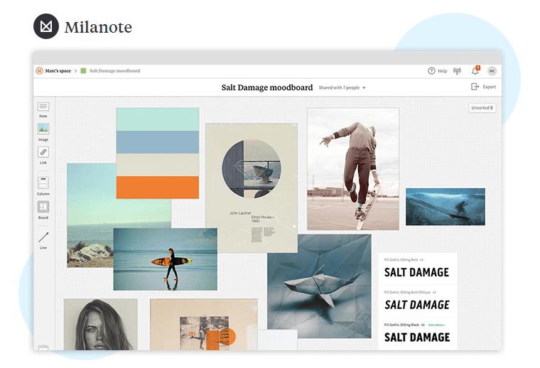 Milanote Content Collaboration