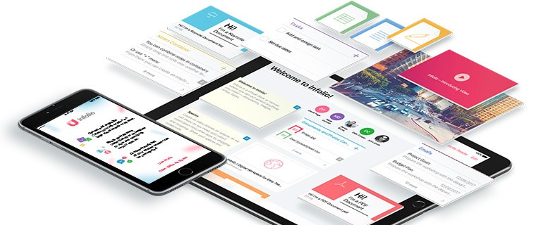 Infolio Improves Team Collaboration with Digital Workplace for iOS11