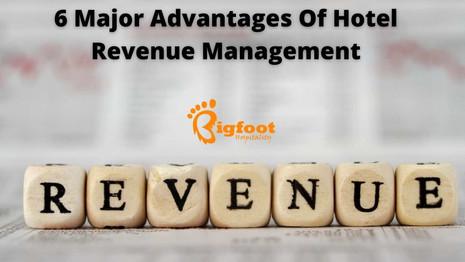 6 Major Advantages Of Hotel Revenue Management