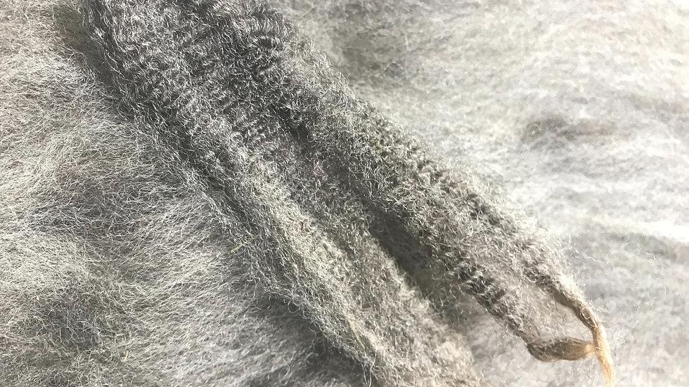 Natural Color Romney Wool Batt