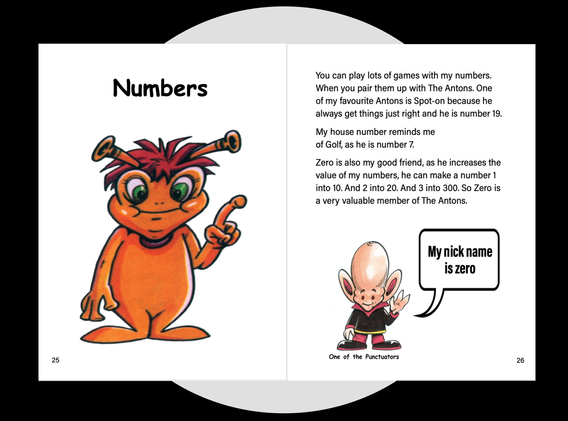 Numbers exercise page