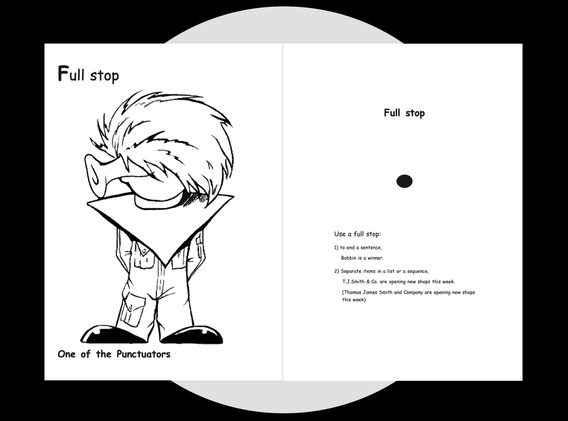 Full Stop's Colouring page