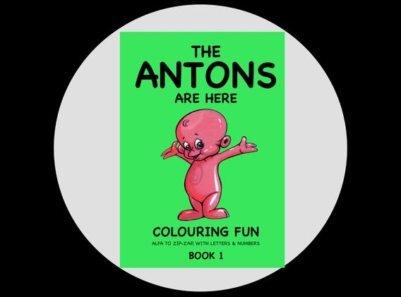 Colouring Fun Book 1