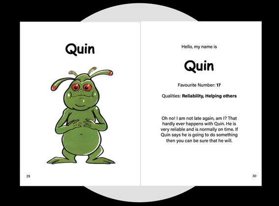 Quin exercise pages