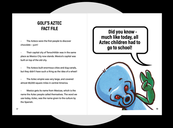 Golf's Aztec Fact File
