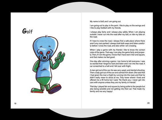 Golf's message