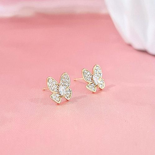 Aretes Mariposa