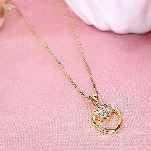 Gargantilla Corazón con Zirconias