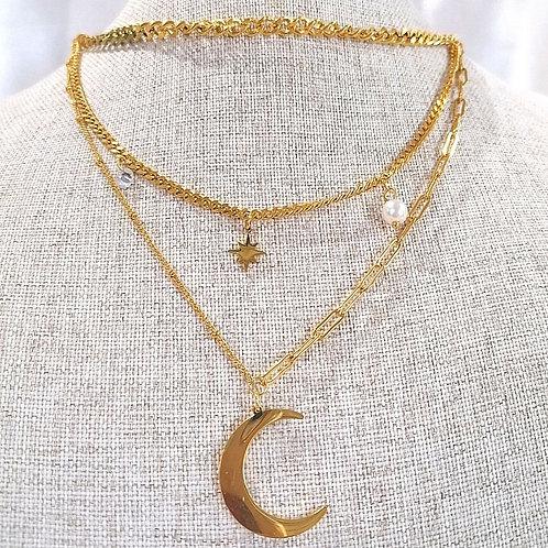 Cadena triple Luna