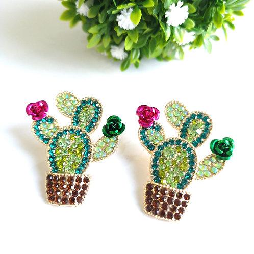 Aretes Cactus