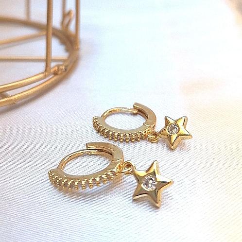 Arracadas Estrella con Zirconias