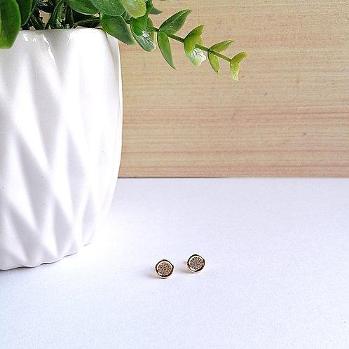 Aretes Circular con Zirconias