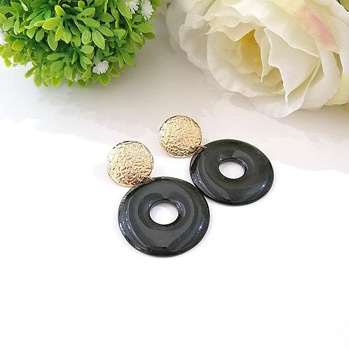 Arete Circular Negro