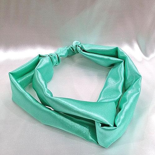Banda para cabello Verde Agua