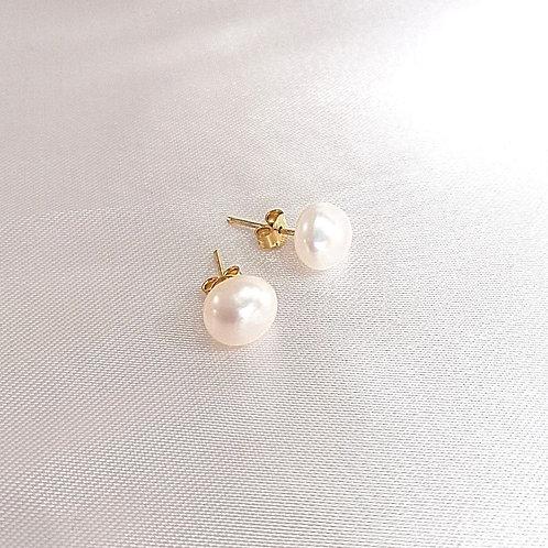 Aretes Perla grandes