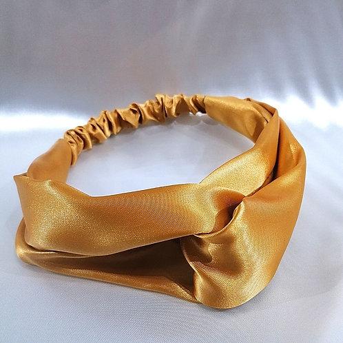 Banda para cabello Dorada-Amarilla