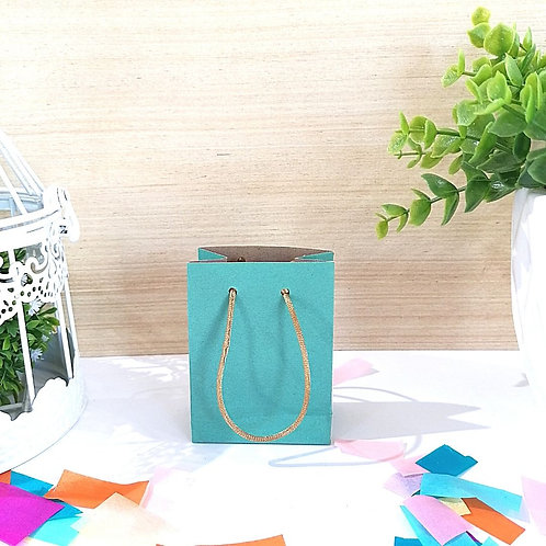 Bolsa Mini Azul Turquesa
