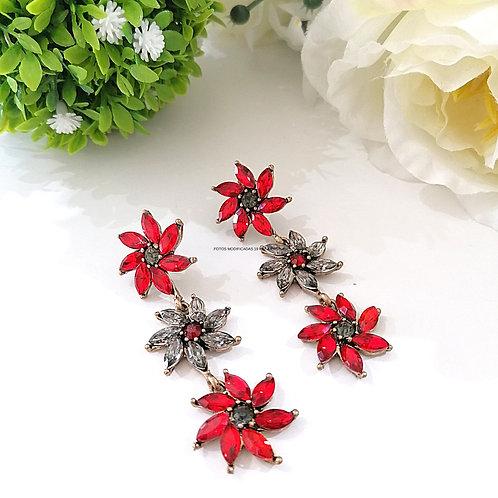 Arete triple Flor