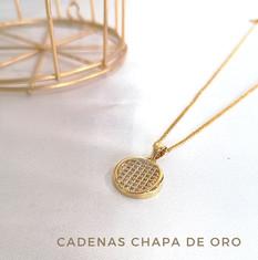 Cadenas Chapa de Oro