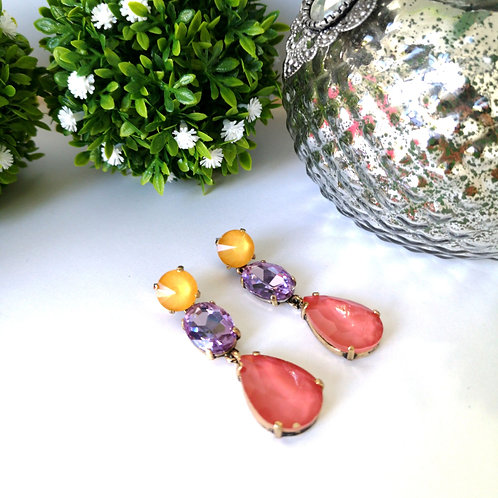 Aretes Multicolor