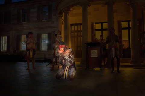 Aboriginal Performance Old Government House