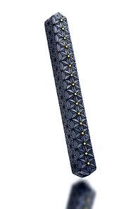 Linear II, Brooch 2020, XiniaGuan Jewelry