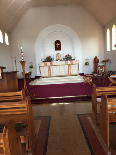 Altar at St Anthony's Church