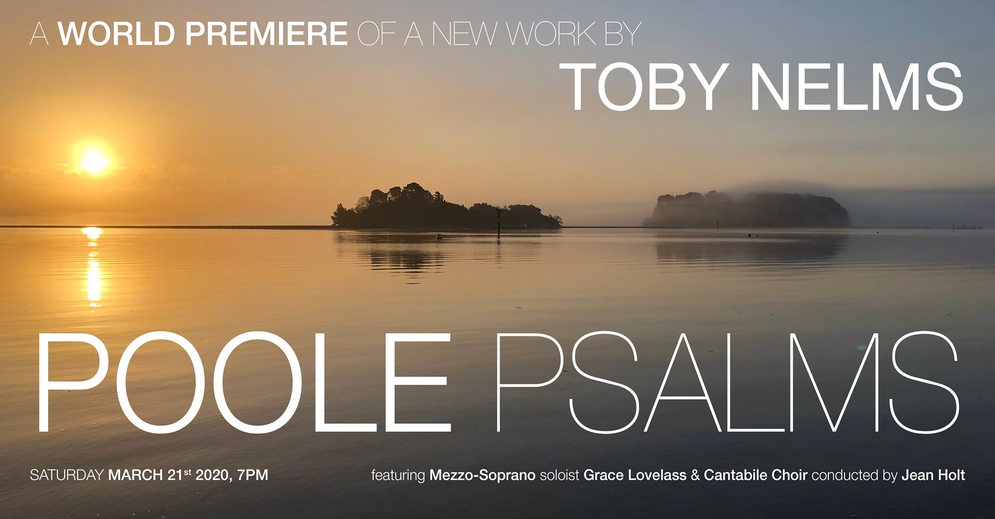 A set of 12 Psalms composed by our very own Toby Nelms