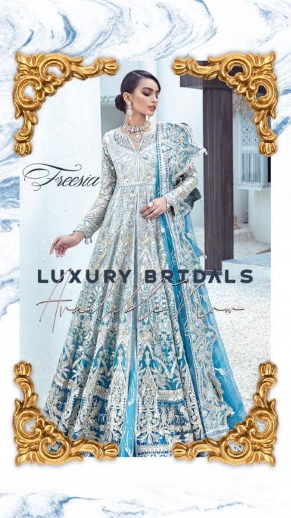Freesia Luxury designer wear at hoorain.