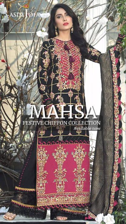 Asim Jofa uk Mahsa pakistani wear at hoo