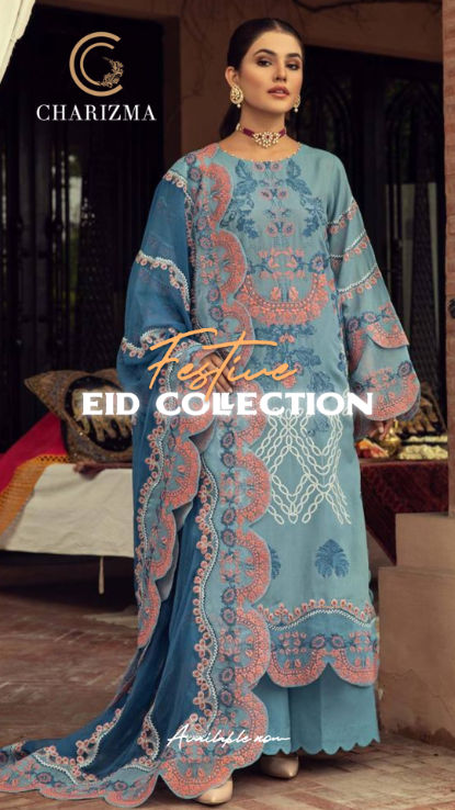 Charizma Eid Collection ladies wear at h