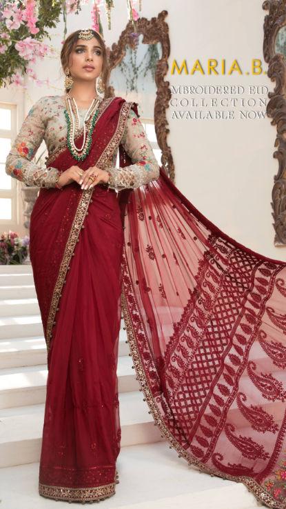 Maria B uk lawn pakistani designer dress