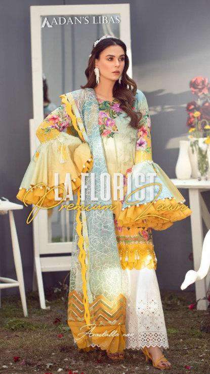 Adans Libas UK La Florist pakistani wear