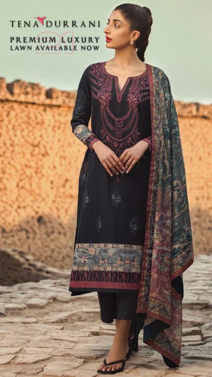 Tena Durrani uk pakistani ladies wear at